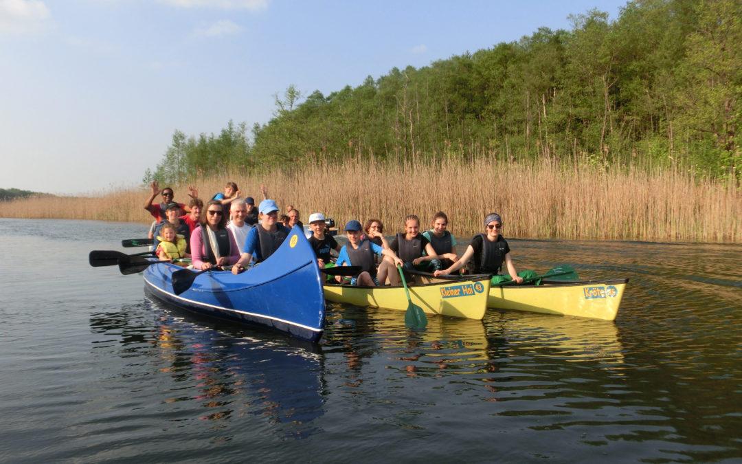 4 intensive und erlebnisreiche Tage beim Trainingslager in Neustrelitz