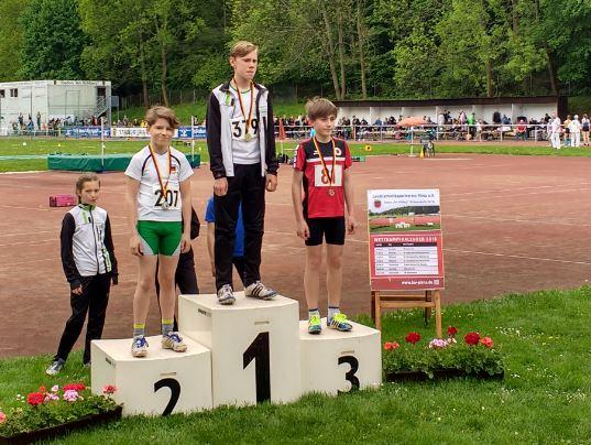 Gelungener Start beim Schülersportfest in Pirna am 1.Mai