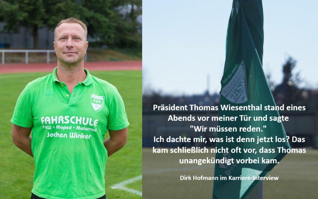 Dirk Hofmann im großen Karriere-Interview