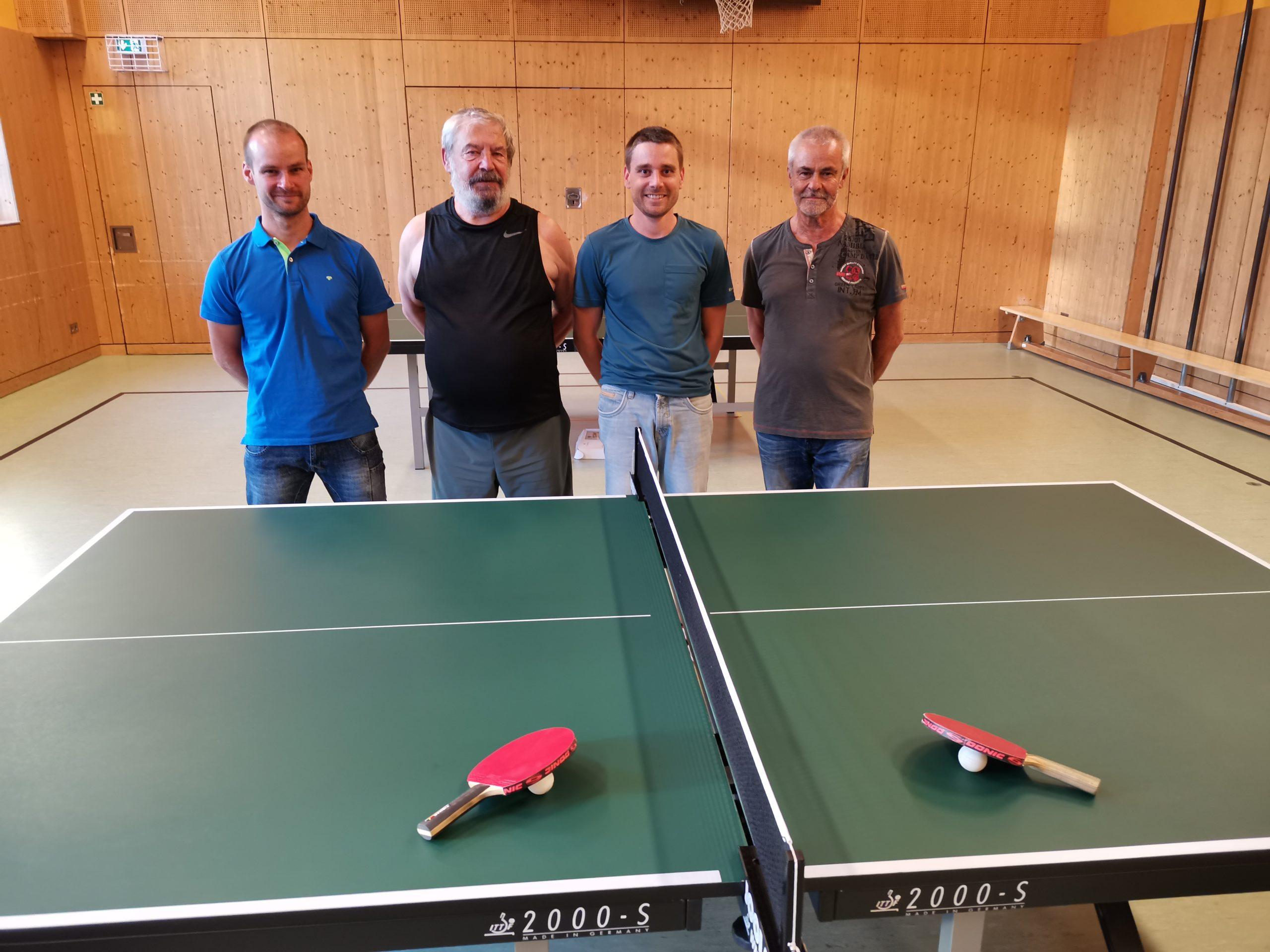 v. l. n. r. Mario, Hans-Uwe, Patrick, Klaus